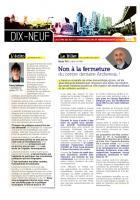 Lettre des élu-e-s du 19e - Juin 2013