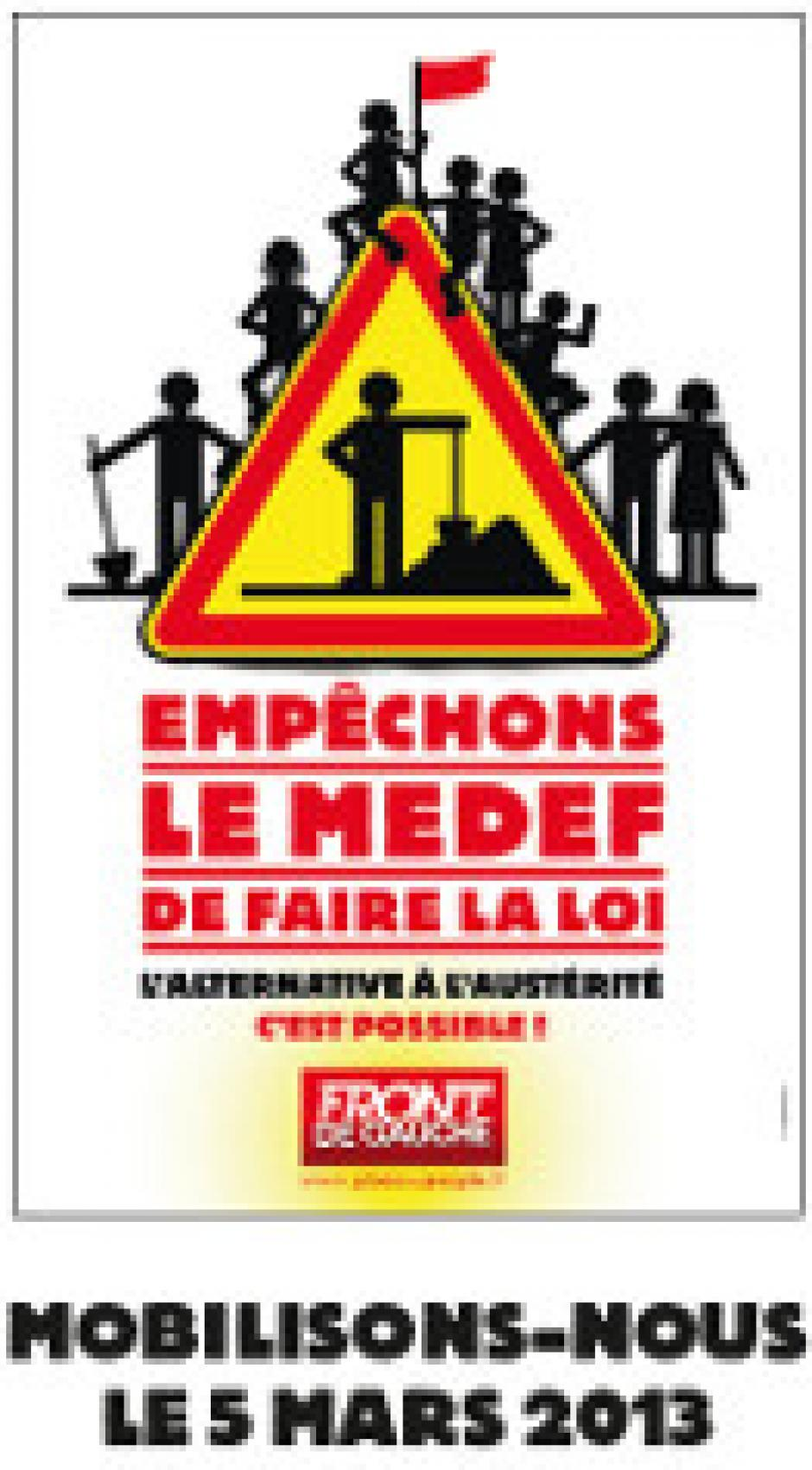 Mobilisation le 5 mars contre l'accord Medef
