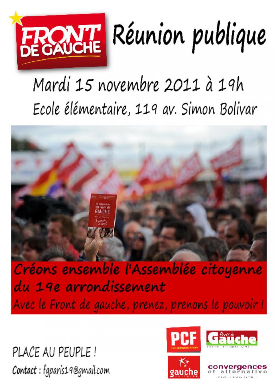 Affiche assemblée citoyenne